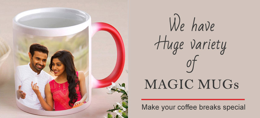 Magic mug – an unique personalized gift