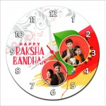 Personalized Raksha Bandhan Round Wall Clock 3