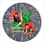 Personalized Raksha Bandhan Round Wall Clock 7