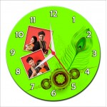 Personalized Raksha Bandhan Round Wall Clock
