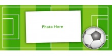 Green heart handled personliazed photo mug Design 51