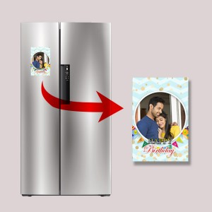 Personalized Fridge Magnet 01