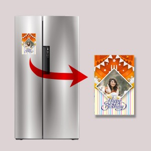 Personalized Fridge Magnet 02