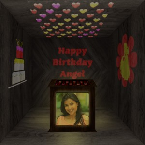 Birthday Wooden Shadowbox 02