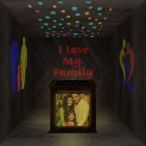 Family Wooden Shadowbox 01
