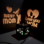 Love You MOM Wooden Shadowbox 01