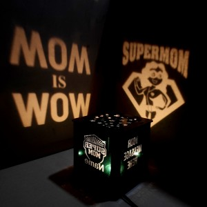 Super Mom Wooden Shadowbox 01