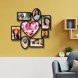 Wooden printed photo collage WC-006 backview