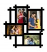 Wooden printed photo collage WC-010
