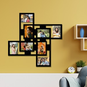 Wooden printed photo collage WC-011 backview