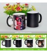 Classic Black Magic Mug - Personalized Photo Birthday, Anniversary gift