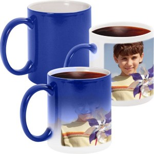 Blue Personalized Magical color changing Mug