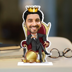No1 Boss Caricature Photo Stand In