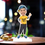 Cool boy Caricature Photo Stand In