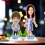 Raksha bandhan duet 02 Caricature Photo Stand In