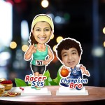 Raksha bandhan duet 04 Caricature Photo Stand In