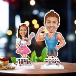Raksha bandhan duet 06 Caricature Photo Stand In