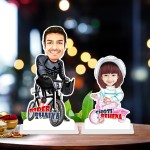 Raksha bandhan duet 09 Caricature Photo Stand In
