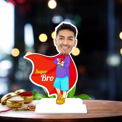 Super bro Caricature Photo Stand In
