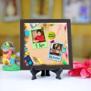 Personalized Photo Tiles with Frame for Teachers 02