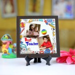 Personalized Photo Tiles with Frame for Teachers 03