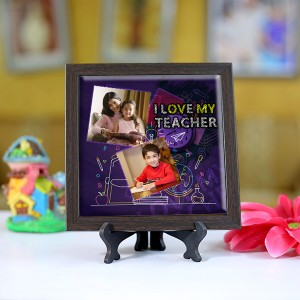 Personalized Photo Tiles with Frame for Teachers 05
