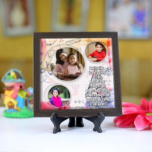 Personalized Photo Tiles with Frame for Teachers 06