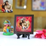 Personalized Photo Tiles with Frame Love You