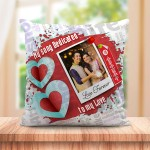 Personalized Cushion For love with Spotify Song QR code 03