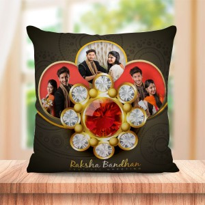 Personalized Cushion For Raksha Bandhan 01