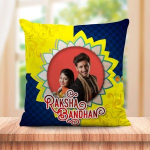 Personalized Cushion For Raksha Bandhan 03