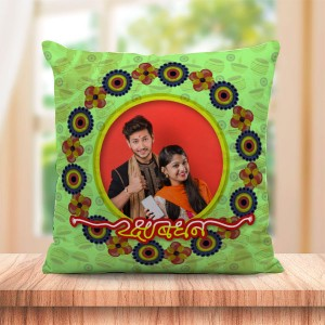 Personalized Cushion For Raksha Bandhan 05