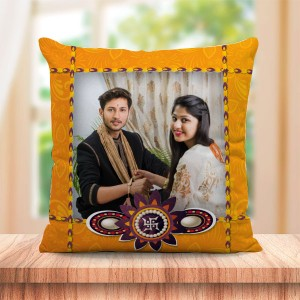 Personalized Cushion For Raksha Bandhan 06