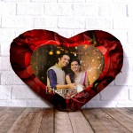 Personalized Heart Shape Cushion with Eternal Love 2 Design