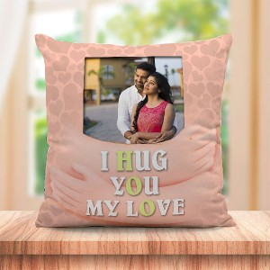 Personalized Hug hand for love design