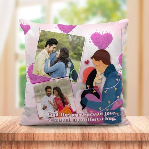 Personalized Hug light strip couple design