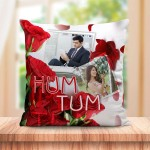 Personalized Hum tum cushion design