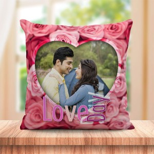 Personalized I Love Teddy cushion design