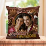 Personalized Sweetest Chocolate cushion design