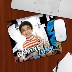 Custom Photo on Gaming Zone Designing mouse Pad