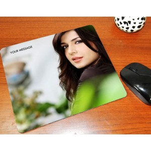 Custom photo on mouse pad backview