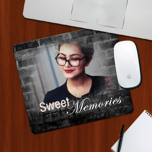 Custom Photo on Sweet Memories Designing mouse Pad