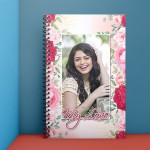 Personalised Notebook Diary printed with love design
