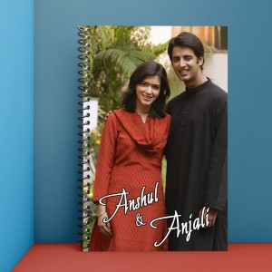 Personalized Notebook Diary printed With Photo & Name