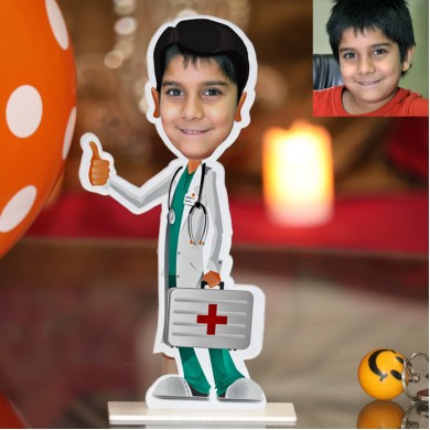 Doctor Photo Stand In