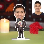 Host or Announcer Caricature Photo Stand In