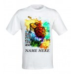 Inquilab Zindabad Patriotic tshirt personalized with name