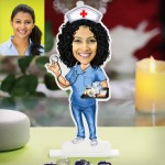 Lady Nurse caricature Photo Stand In