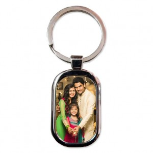 Metal Oval Shaped Key Ring