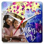 Mother's Day Special Square Clock 01